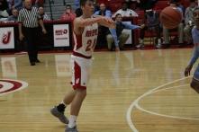 Bailey Falkenstein, 11, passing the ball.