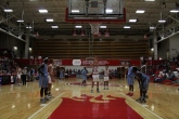 Bailey Falkenstein, 11, shoots the free throw.