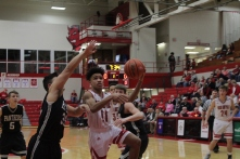 Jacob Jones with the layup.