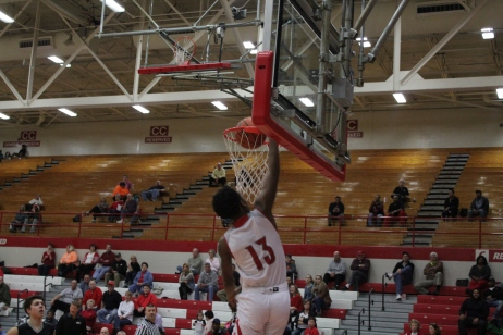 Tre Coleman with the slam.