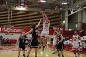 Bailey Falkenstein with the jumpshot.