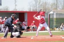 Drew Taylor at bat.