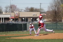 Jacob Cochrum pitching.