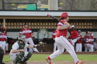 Hunter Schmitz at bat.