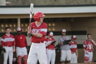 Trey Bottorff at bat.