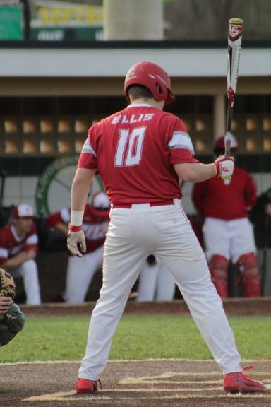 Jack Ellis at bat.