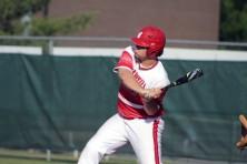 Hunter Schmitz at bat