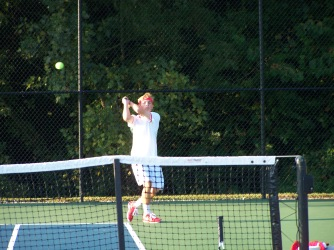 Jared wells four singles warming up at Jasper on Saturday morning